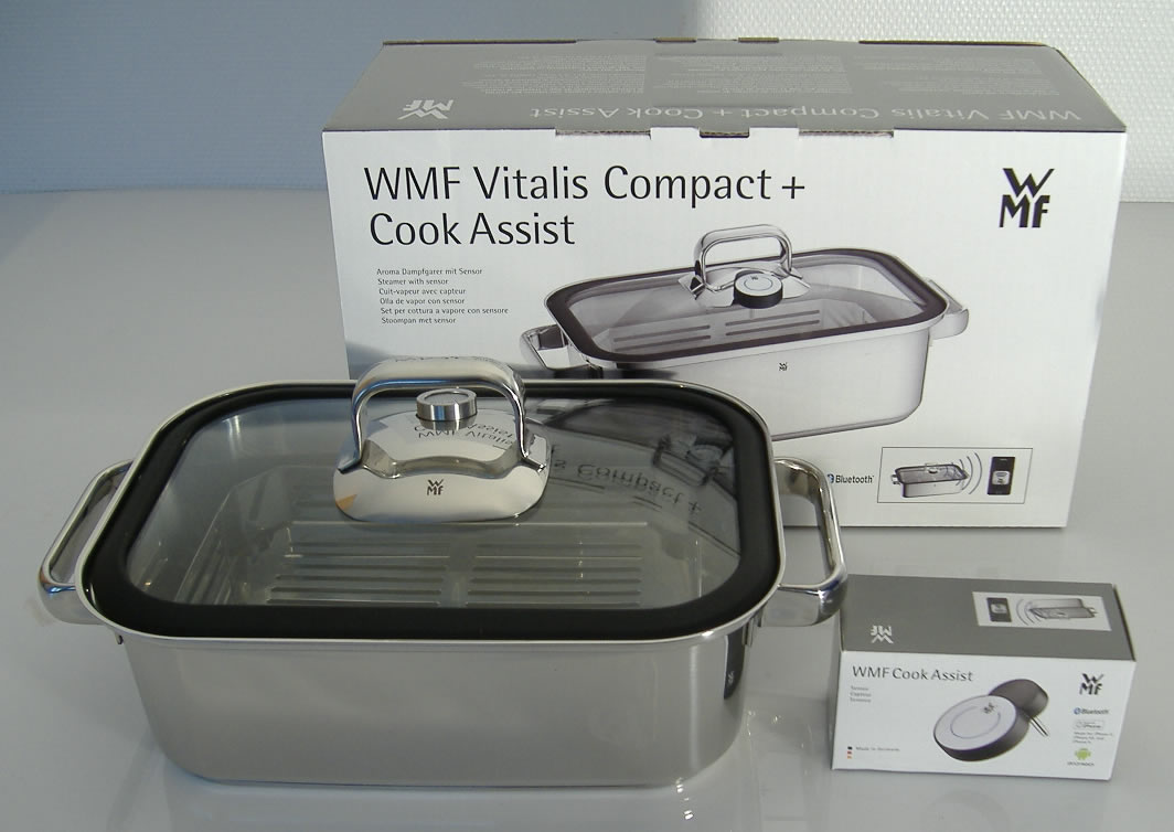 wmf vitalis compact aroma dampfgarer mit cook assist neu. Black Bedroom Furniture Sets. Home Design Ideas